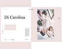 Weddinger | Collection page design | Golden Canon