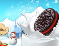 Oreo / Chat de Santa.com