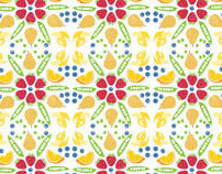 Cambridge Superfoods Pattern Design