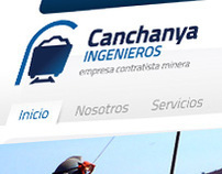 Canchanya Ingenieros Website and Logo