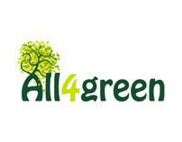 ALL4Green Logotipo