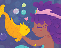 Candy Mermaid & Catfish Buddy