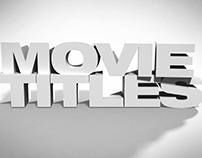 MOVIE TITLES