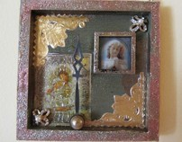 Recent mixed media assemblages