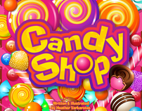"""Candy Shop"" Children's book illustrations"