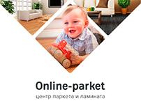Online-parket.ru – редизайн интернет-магазина