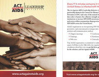 Branding - CDC's Act Against AIDS Leadership Initiative