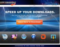 Best Download Manager Animation & Website Design