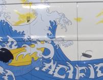 Pacifico: VW VIntage Surf Busses
