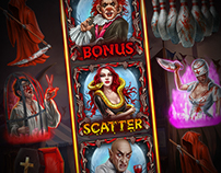 Slot machine - Blood Circus