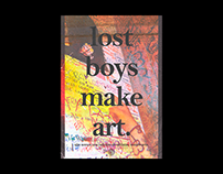 lost boys make art.