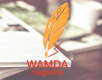 Wamda Magazine Logo Redesign