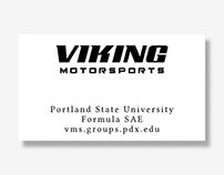 Business Cards: Viking Motorsports