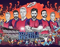 Spykar Jeans - Rising Super Giants Pune - Illustration