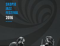 SKOPJE JAZZ FESTIVAL 2016 CALENDAR