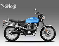 NORTON COMMANDO SCRAMBLER 350