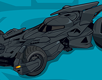 Batman v Superman: Batmobile