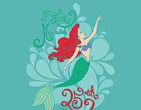 Little Mermaid 25th Anniversary Tee
