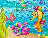 """""""Sammy the Silly Seahorse"""" Children's book"""