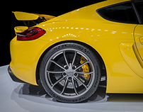 Porsche The new Cayman GT4