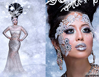 Glistening Goddess Wild Heart Magazine Shoot