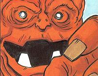 Marvel Retro Sketch Cards