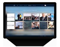 Touchscreen terminal: 20 years Deggendorf University