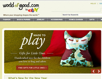 WorldofGood.com by eBay
