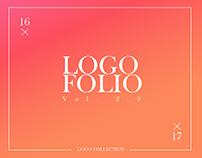 Logofolio - colección de mis diseños de logo.