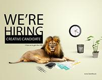 Creative Job Campaign