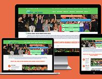 Re-design website - Bubble Soccer Toronto
