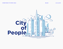 STADGENT: CITY OF PEOPLE. Illustrations and visuals