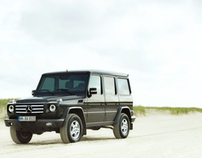 the Mercedes Benz G-class