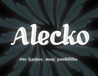 Alecko Typeface