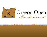 Oregon Open Invitational Logo & Visual Design