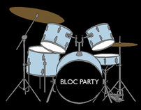Bloc Party Paper Dolls