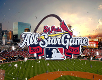 MLB All Stars in St. Louis / launch spot pitch pres.