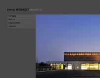 Création du site internet Hervé Regnault Architecte