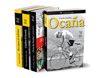 Last 12 book covers for Cultura Ciclista publisher
