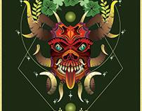 Diablo danzante 0.1   Inspirada en la Diablada de Pílla
