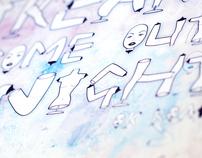 Typographic Specimen Page