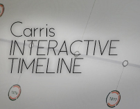 Carris Interactive Timeline