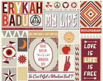 Erykah Badu Print
