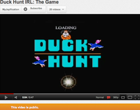 Duck Hunt IRL: The Game
