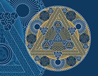 Paradoxical geometric mandala