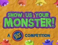 Show Us Your Monster -- A Clay Jam Competition