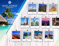 Hotel Express International - Office wall design
