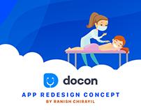DOCON - App Redesign Concpet