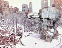 AT-AT in Central Park