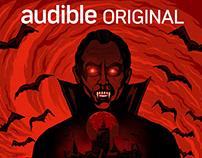 Cover Illustrations for Audbile's Chhupe Saaye Season 2